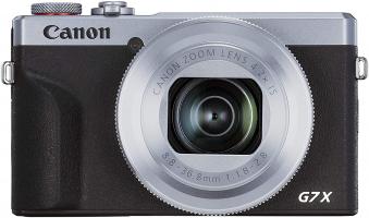 Canon PowerShot G7 X Mark III – Argento