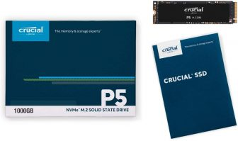 Crucial P5 500GB CT500P5SSD8 SSD Interno 3D NAND NVMe PCIe