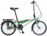 Dahon Mariner i3, Bicicletta Pieghevole Unisex Adulto, Verde, 20″