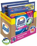 Dash Pods Allin1 Detersivo Lavatrice in Capsule Protezione Tessuti – 98 Lavaggi
