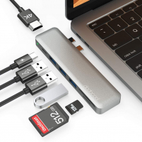 dodocool Hub USB C Adattatore per MacBook PRO 7 in 1