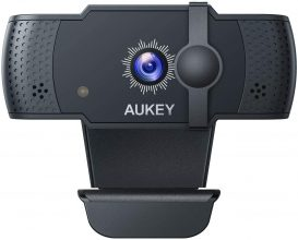 AUKEY PC-LM4 5 MP Webcam 1080p Full HD