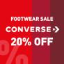 Converse: 20% EXTRA SCONTO SUI SALDI