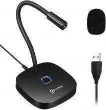 EIVOTOR Microfono USB per PC