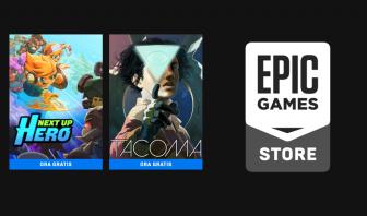 EPIC GAMES: Tacoma e Next Up Hero GRATIS