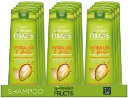 Garnier Multi Pack Shampoo Fructis Hydra Liss & Shine – 12 Pezzi