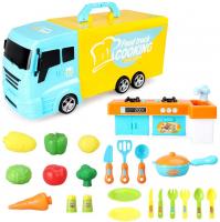 Giocattolo Happy Little Chef – Camion da Cucina 33 Pezzi