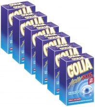 Golia Activ Plus Caramelle Balsamiche al Mentolo e Eucaliptolo – 6 Confezioni da 2 Pacchetti