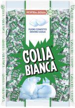 Golia Bianca, Caramelle Dure al Gusto Menta e Liquirizia, Formato Scorta, Busta da 1 kg,