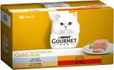 Gourmet Gold I mousselines pasto per Gatto Adulto Gusto a Scelta