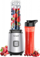 homgeek Mini Frullatore 400W e smoothie da 600 ml