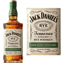 Jack Daniel´S Tennessee Whiskey Straight Rye Whiskey, 700 ml