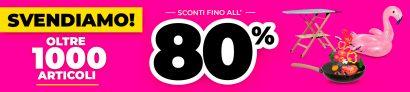 Kasanova: Super svendita! Oltre 1000 Articoli all'80% di Sconto!