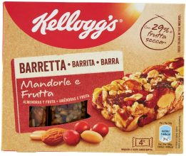 Kellogg's Barretta Mandorle e Frutta – 0.128 kg