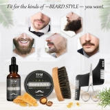 Kit per la cura della barba Luckyfine