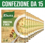 Knorr Minestra D'Orzo – 15 Pezzi