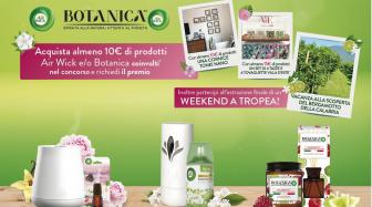 Concorso a premio certo Air Wick e Botanica: Acquista almeno 10€ di prodotti coinvolti e richiedi il premio