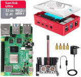 LABISTS Raspberry Pi 4 Model B 8GB RAM Starter Kit con MicroSD 32GB