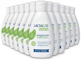 Lactacyd Protezione ExtraFresh 12 Pezzi da 300 ml
