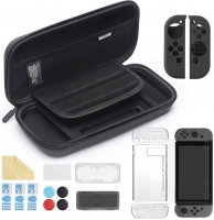 iAmer Kit 11 in 1 Accessori per Nintendo Switch