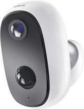 ieGeek Telecamera WiFi Interno/Esterno Batteria 10000mAh