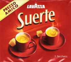 Lavazza Suerte Miscela di Caffè, 2 x 250g