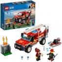 LEGO – City Fuoristrada dei Vigili del Fuoco con Autopompa Antincendio e Cannone ad Acqua 60231
