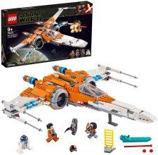 LEGO Star Wars X-wing Episodio IX con 3 Minifigure