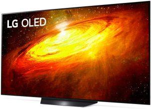 LG OLED TV AI ThinQ OLED55BX6LB, Smart TV 55 POLLICI + LG TONE FREE FN6