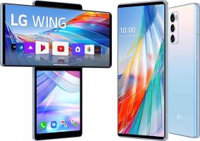 LG WING smartphone 5G + LG TONE Free FN6 omaggio