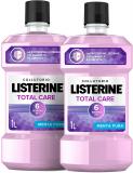 Listerine Collutorio, Total Care, Menta Pura 2 Confezioni da 1 L