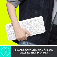 Logitech K380 Tastiera Bluetooth Multidispositivo per Windows