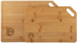 MasterChef 525523 Set di 2 taglieri di bambù