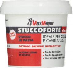 MaxMeyer Stucco in pasta per interni ed esterni BIANCO 0,5 KG
