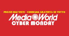 Mediaworld: Cyber Monday, Prezzi mai visti e consegna gratuita su tutto