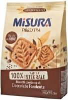 Misura Biscotti Integrali Fibrextra con Gocce di Cioccolato Fondente