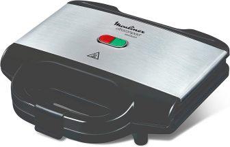 Moulinex SM156D Ultracompact Metal Sandwich Maker
