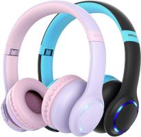 Mpow CH9 – Cuffie Bluetooth per bambini, 2 pezzi