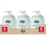 NEUTRO ROBERTS Sapone Liquido Antibatterico – Té Verde – Confezione da 6×200 ml