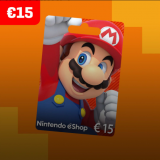 Nintendo eShop Card 15 EUR Key EUROPE