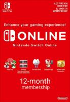 Nintendo Switch Online – Abbonamento 12 Mesi