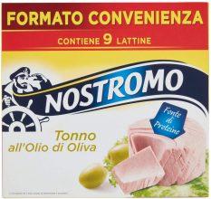 Nostromo Tonno All'Olio Di Oliva Multipackpiano 9 Lattine – 630 Gr