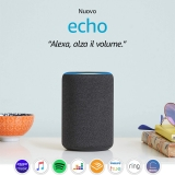 Nuovo Amazon Echo (3ª generazione) – Altoparlante intelligente con Alexa