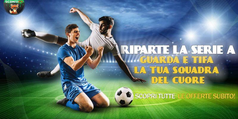 Riparte la Serie A, tutte le Offerte Calcio delle PayTV!