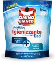Omino Bianco – Additivo Idrocaps Igienizzante – 10 pezzi x 12 confezioni