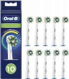 Oral-B CrossAction Testine di Ricambio, Confezione da 10 Pezzi