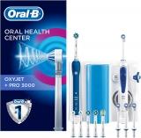 Oral-B PRO 3000 Kit per L'Igiene Orale Spazzolino Elettrico e Idropulsore Oxyjet