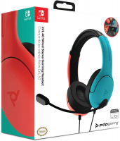 PDP 500-162-NA-BLRD Nintendo Switch LVL40 Joycon Auricolare stereo cablato