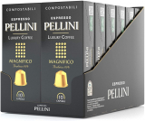 Pellini Caffè Espresso Luxury Coffee Magnifico, 12 Astucci da 10 Capsule, Totale 120 Capsule