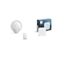 Philips Lighting White Ambiance Felicity Lampada da Tavolo con Lampadina Inclusa + Bridge 2.0
